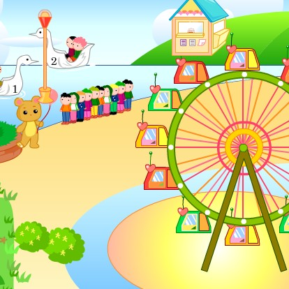 for Amusement park decoration games